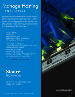 SE Technology Manage Hosting Brochure